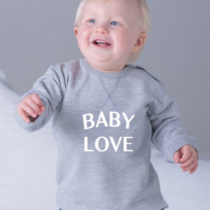 SUDADERA BABY LOVE