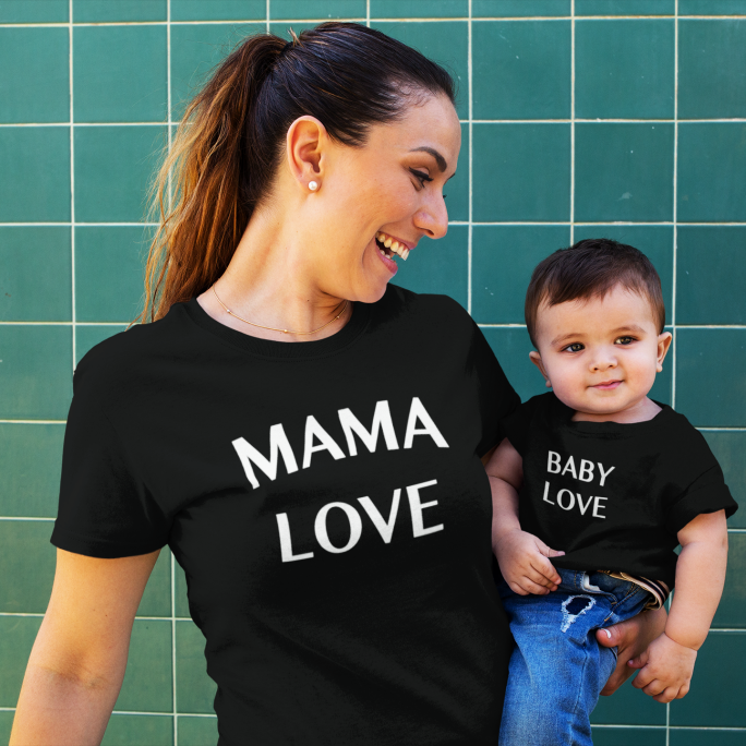 PACK MAMÁ Y PEQUE (MAMA LOVE-BABY LOVE)