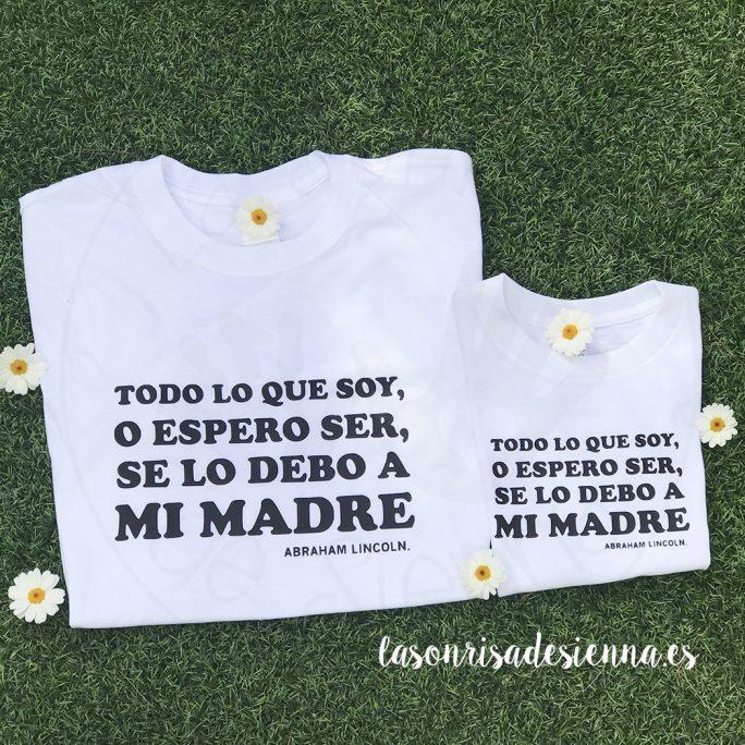 PACK TODO LO QUE SOY, O ESPERO SER, SE LO DEBO A MI MADRE
