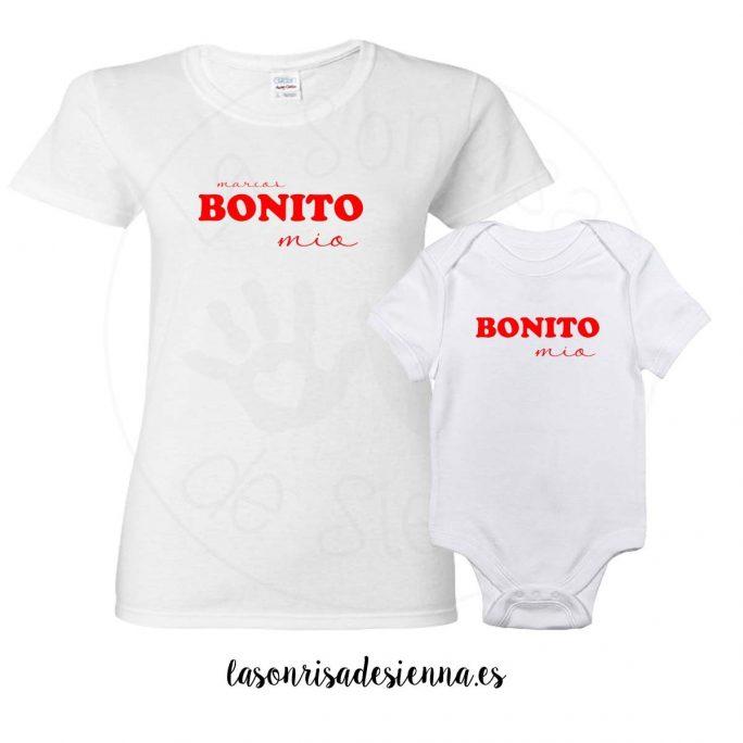 PACK BONITO/A mío/a (CAMISETA Y BODY)