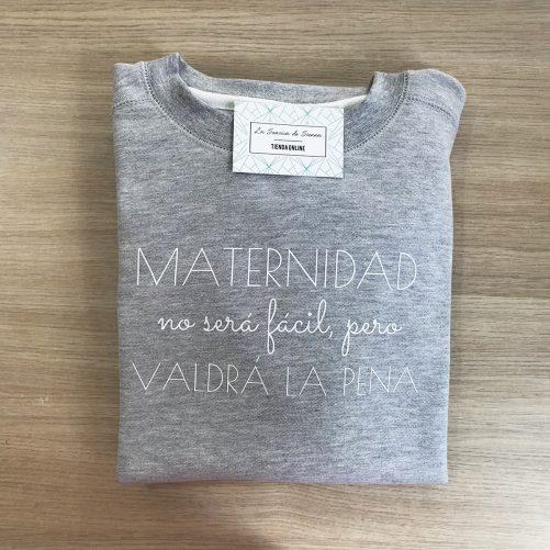 SUDADERA MATERNIDAD