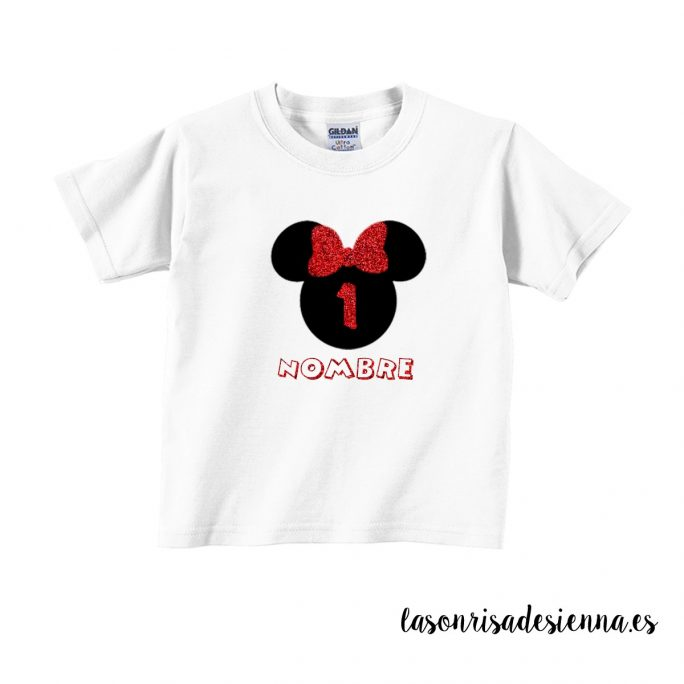 CAMISETA CUMPLE MINI